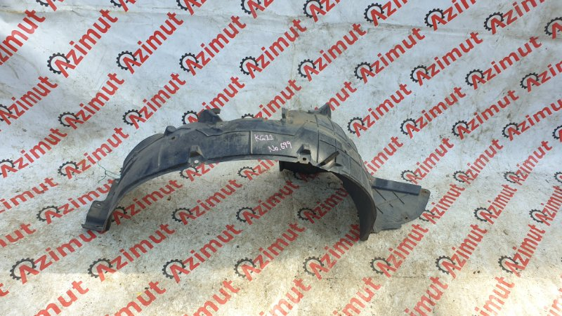 Подкрылок Nissan Bluebird Sylphy KG11 MR20DE 2006 передний правый (б/у)