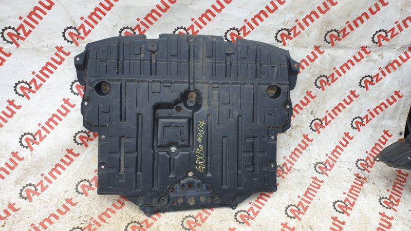 Защита двигателя Toyota Mark X GRX130 4GRFSE 2012 (б/у)