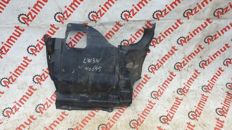 Защита двигателя Mazda Mpv LW3W L3DE 2004 передняя левая (б/у)