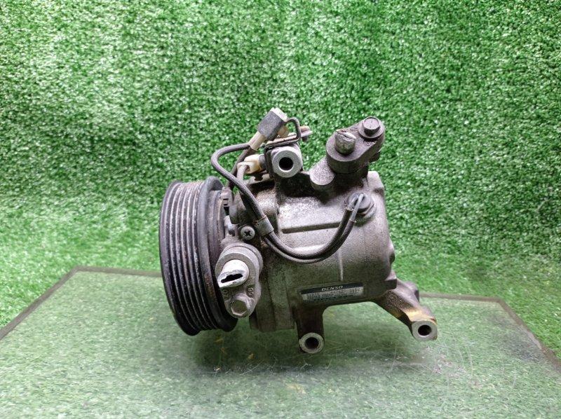 Компрессор кондиционера Toyota Passo KGC10 1KRFE (б/у)