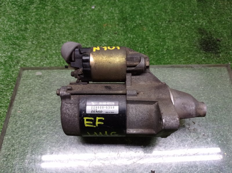 Стартер Daihatsu Terios J111G EFDET (б/у)