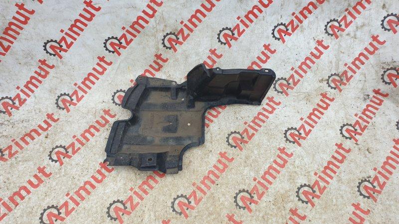Защита двигателя Toyota Aqua NHP10 1NZ-FXE 2012 правая (б/у)
