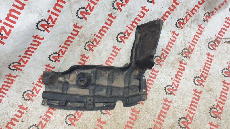 Защита двигателя Toyota Ractis NCP100 1NZFE 2007 левая (б/у)