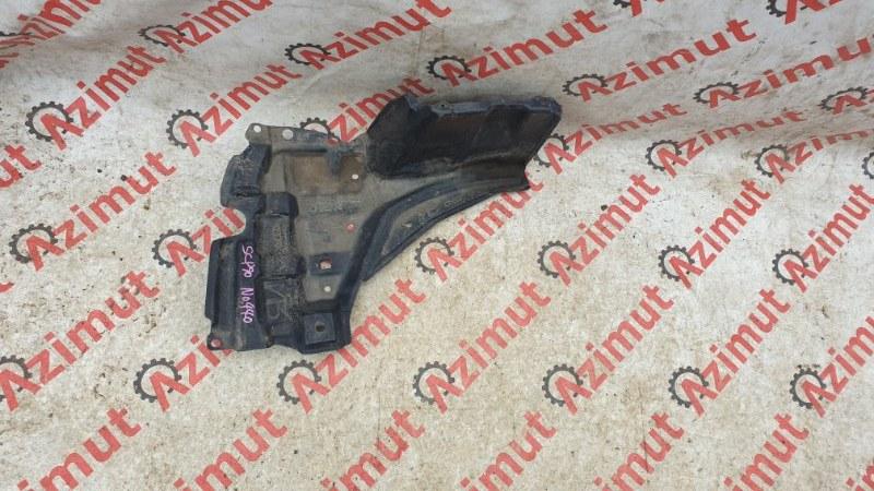 Защита двигателя Toyota Vitz SCP90 2SZFE 2010 правая (б/у)