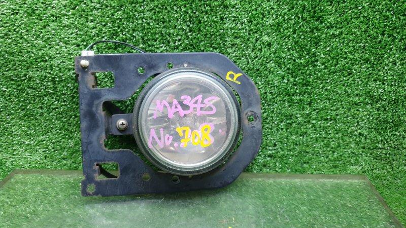 Туманка Suzuki Solio MA34S M13A 2001 передняя правая (б/у)