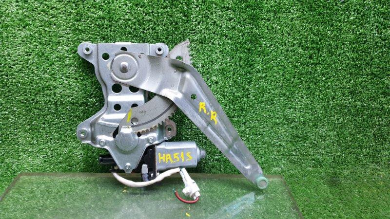 Стеклоподъемник Chevrolet Cruze HR51S задний правый (б/у)