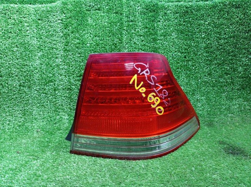 Стоп-сигнал Toyota Crown GRS182 3GRFSE 2003 правый (б/у)