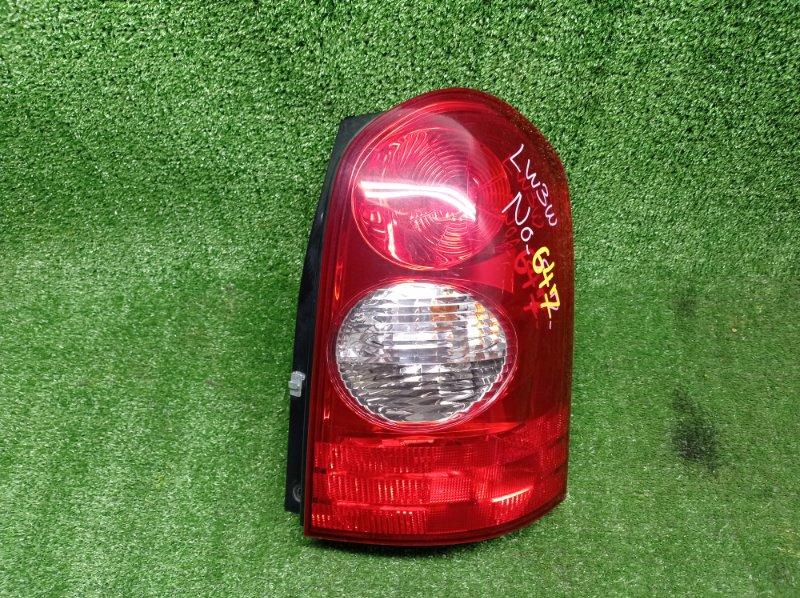 Стоп-сигнал Mazda Mpv LW3W L3DE 2002 правый (б/у)