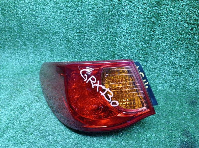 Стоп-сигнал Toyota Mark X GRX130 4GRFSE 2012 левый (б/у)