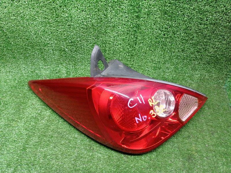 Стоп-сигнал Nissan Tiida C11 HR15DE 2006 левый (б/у) 4086