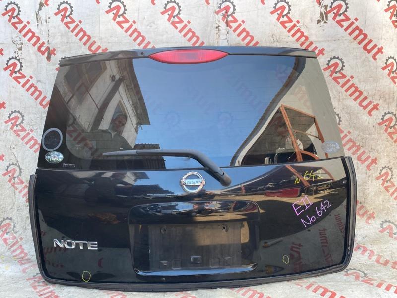 Дверь задняя Nissan Note E11 HR15DE 2007 (б/у)