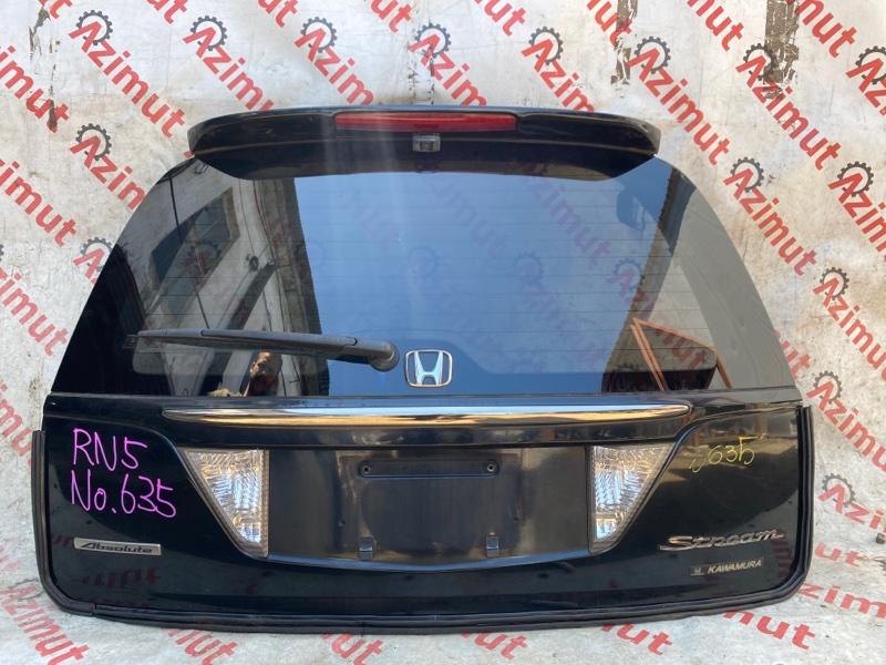 Дверь задняя Honda Stream RN5 K20B 2005 (б/у)