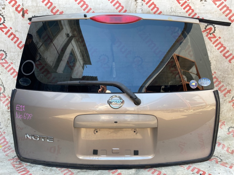 Дверь задняя Nissan Note E11 HR15DE 2006 (б/у)