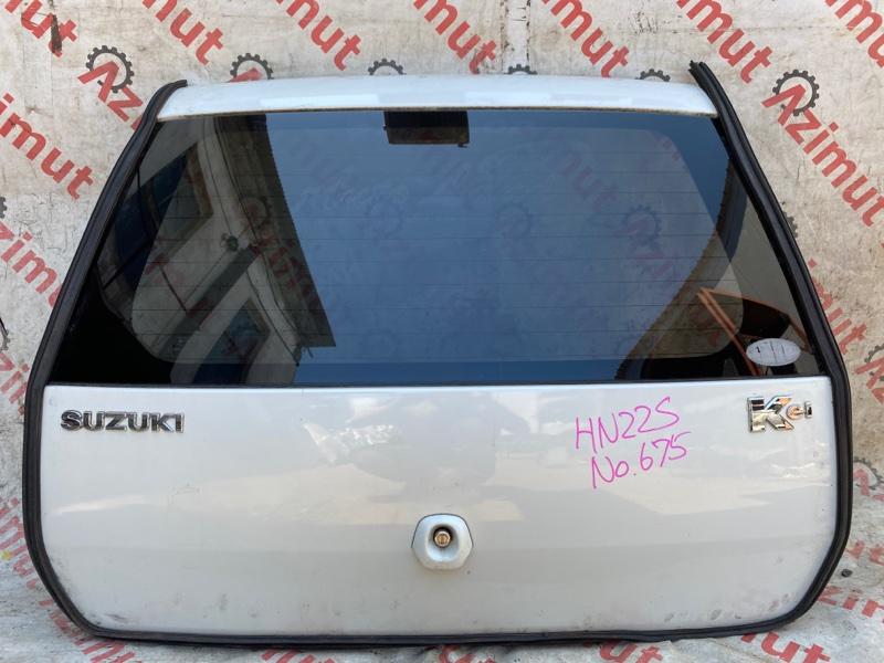 Дверь задняя Suzuki Kei HN22S K6A 2003 (б/у)