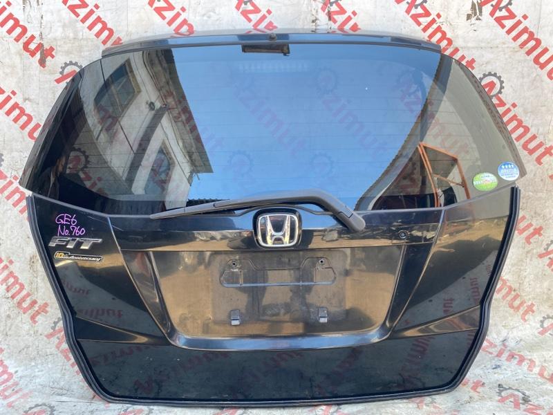 Дверь задняя Honda Fit GE6 L13A 2012 (б/у)