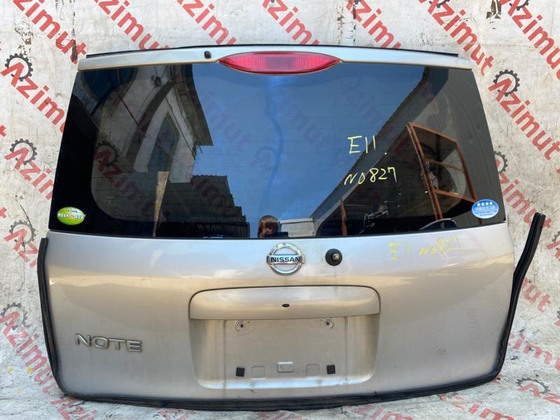 Дверь задняя Nissan Note E11 HR15DE 12/2005 (б/у)