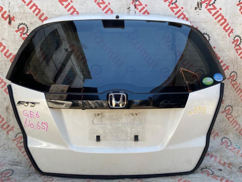 Дверь задняя Honda Fit GE6 L13A 2007 (б/у)