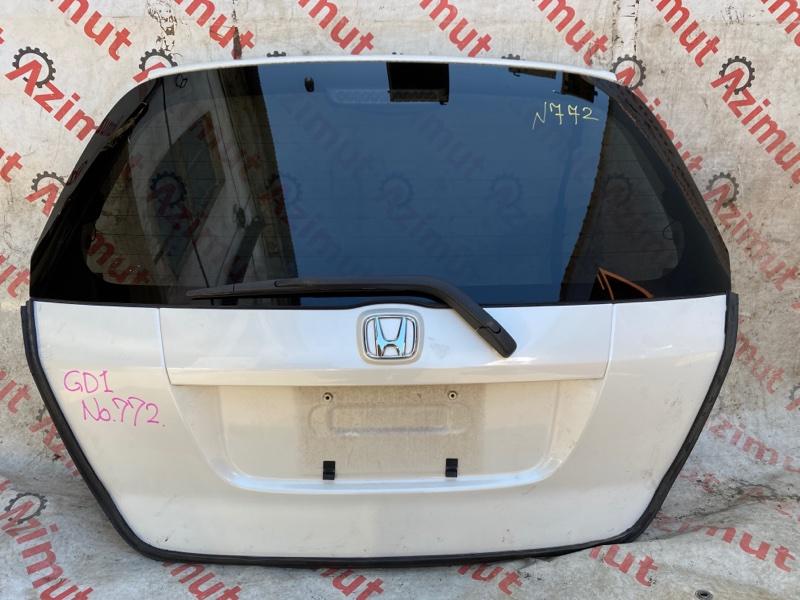 Дверь задняя Honda Fit GD1 L13A 2005 (б/у)