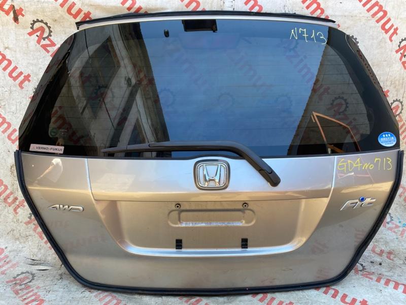 Дверь задняя Honda Fit GD3 L15A 2003 (б/у)