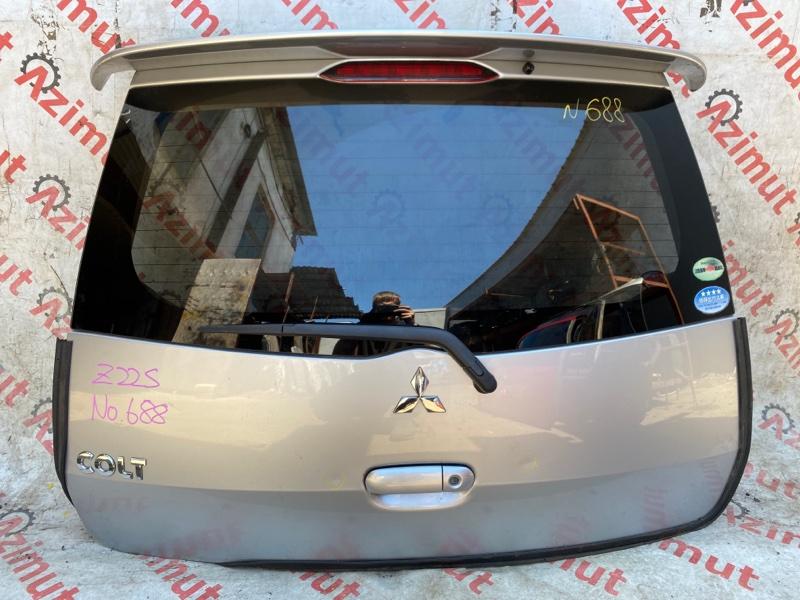Дверь задняя Mitsubishi Colt Z22A 4A90 2009 (б/у)
