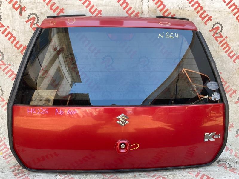 Дверь задняя Suzuki Kei HN22S K6A 2006 (б/у)