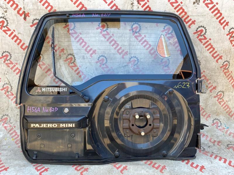 Дверь задняя Mitsubishi Pajero Mini H56A 4A30 1995 (б/у)