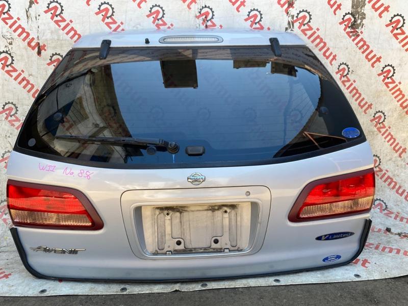 Дверь задняя Nissan Avenir W11 QG18DE 05/2000 (б/у)