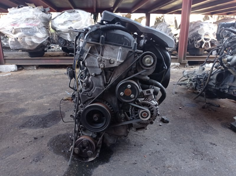Двигатель Mazda Premacy CREW LFVE 2007 (б/у) 10459541