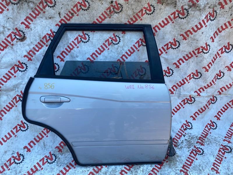 Дверь Nissan Avenir W11 QG18DE 05/2000 задняя правая (б/у)