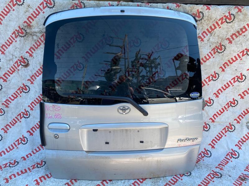 Дверь задняя Toyota Funcargo NCP20 2NZFE 2003 (б/у)