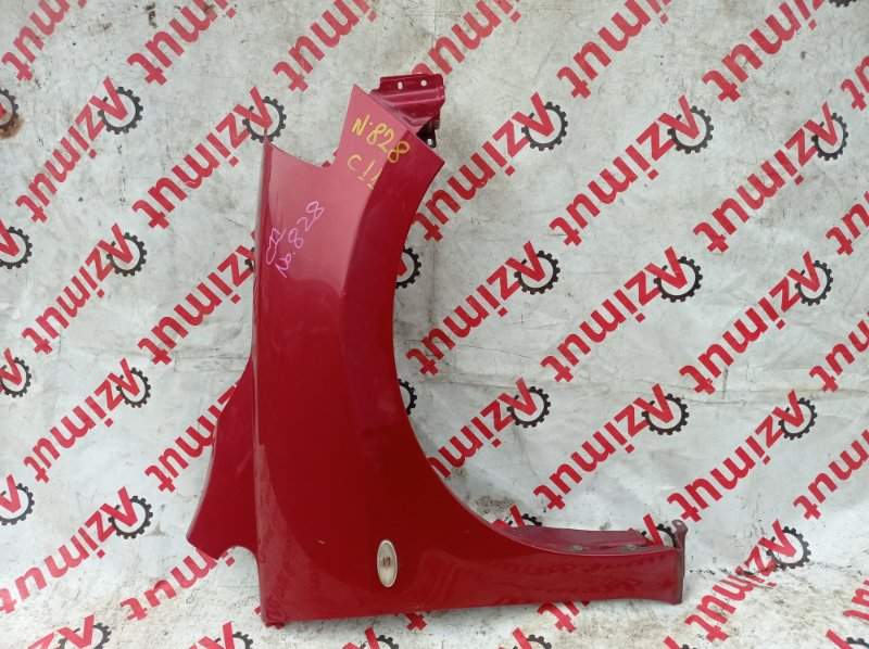Крыло Nissan Tiida C11 HR15DE 01/2010 переднее правое (б/у)