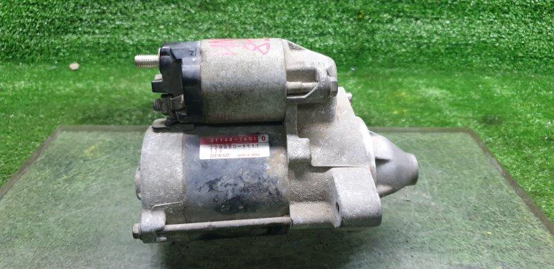 Стартер Suzuki Kei HN22S K6A 2005 (б/у) 3110076G1
