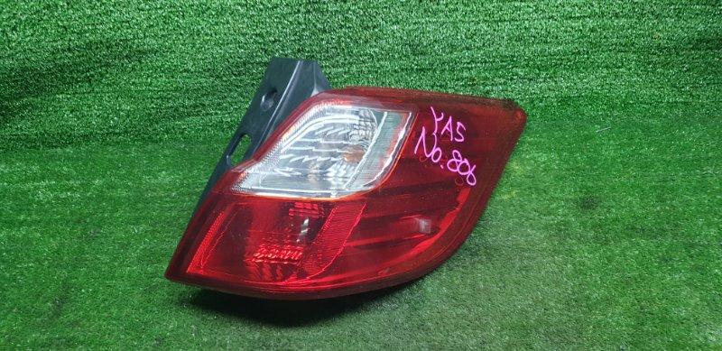 Стоп-сигнал Subaru Exiga YA5 EJ204JU 01/2011 задний правый (б/у) D060