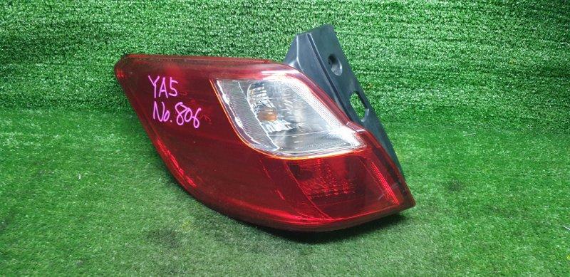 Стоп-сигнал Subaru Exiga YA5 EJ204JU 01/2011 задний левый (б/у) D060