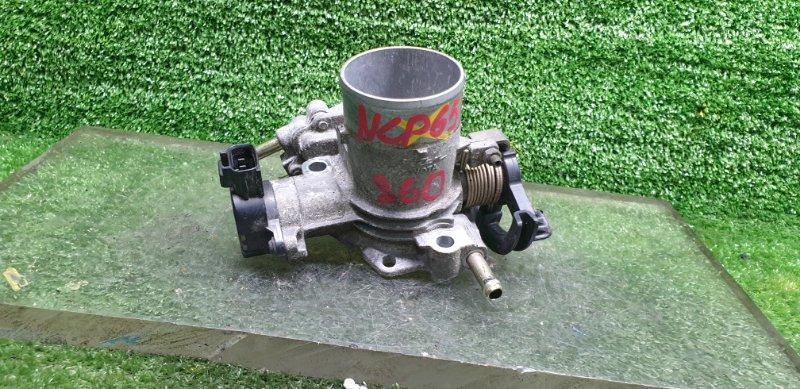 Заслонка дроссельная Toyota Ist NCP65 1NZFE 11.2003 (б/у) 2227021011