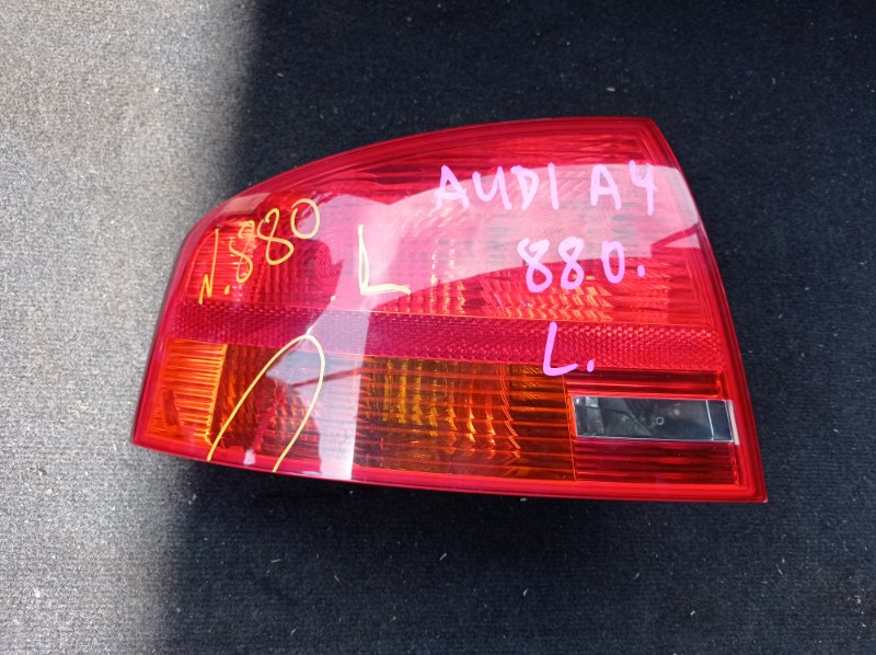 Стоп-сигнал Audi A4 8EC BGB 2004 задний левый (б/у) 8E5945095