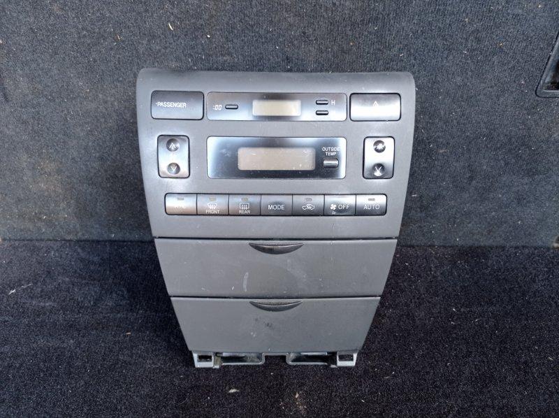 Блок управления климат-контролем Toyota Runx NZE121 1NZFE 09.2001 (б/у) 866501E470