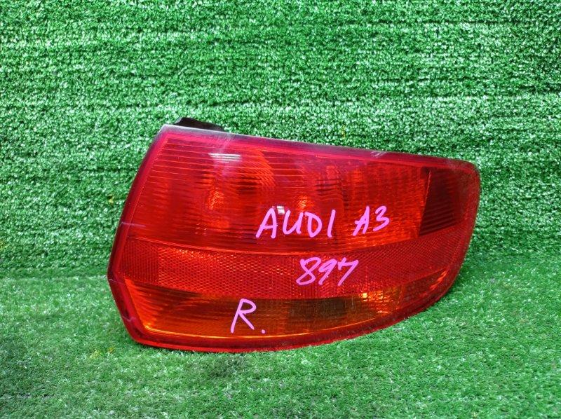 Стоп-сигнал Audi A3 8PA BLR 2006 задний правый (б/у) 8P4945096C
