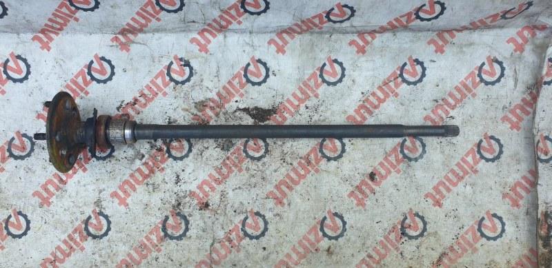 Полуось Toyota Platz NCP16 2NZFE 04.2000 задний левый (б/у) 4231152010