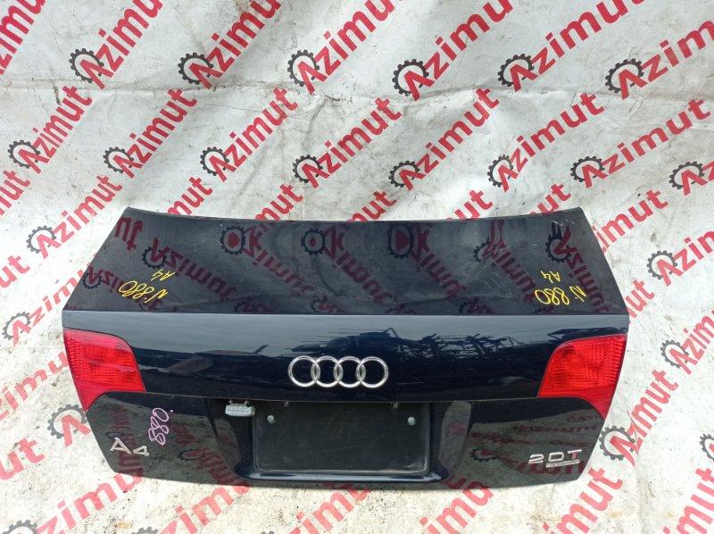 Крышка багажника Audi A4 8EC BGB 2004 задняя (б/у)