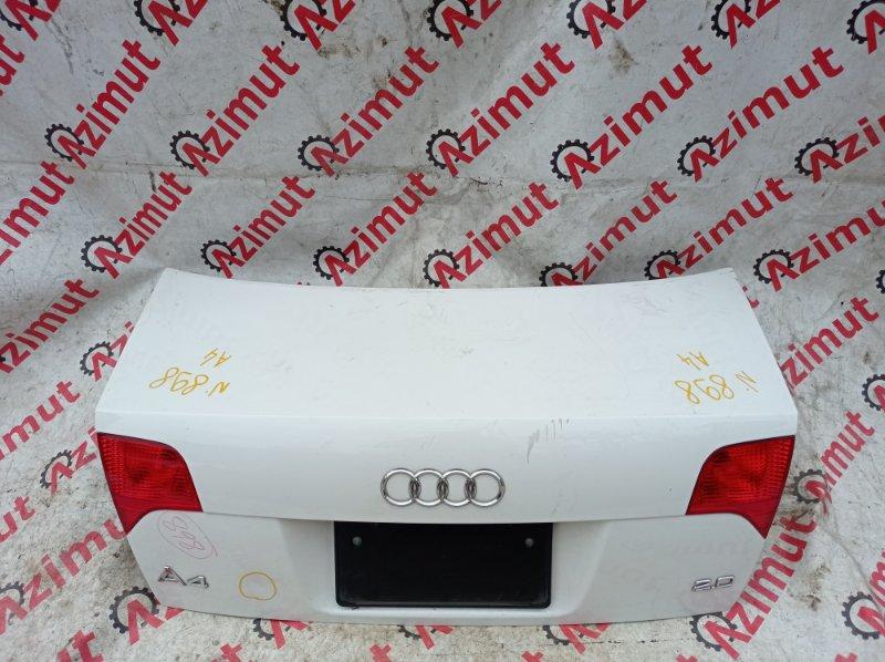 Крышка багажника Audi A4 8EC ALT 2007 задняя (б/у)