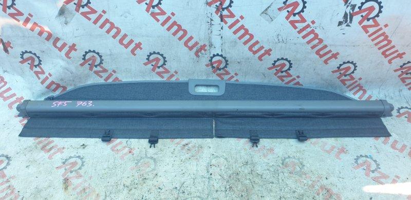 Шторка багажника Subaru Forester SF5 EJ201DX 05/2001 задняя (б/у)