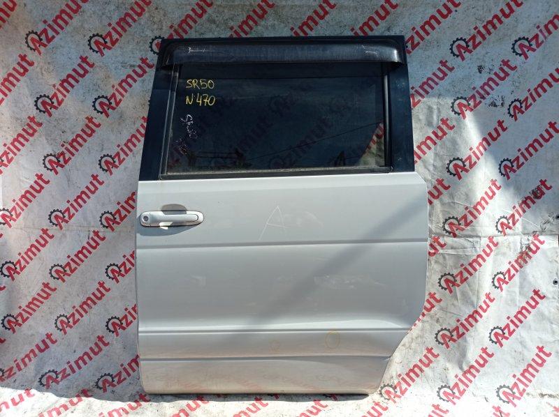 Дверь Toyota Lite Ace Noah SR50 3SFE 1999 задняя левая (б/у)