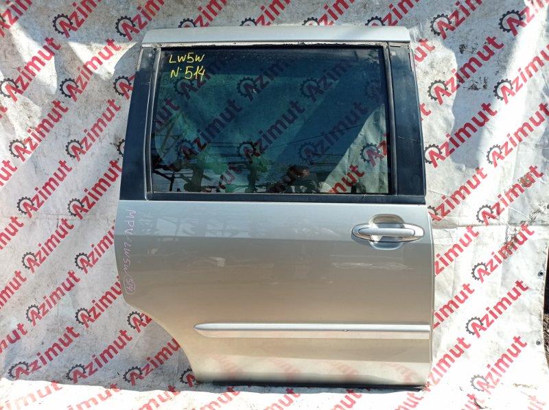 Дверь Mazda Mpv LW5W GY 2000 задняя правая (б/у)