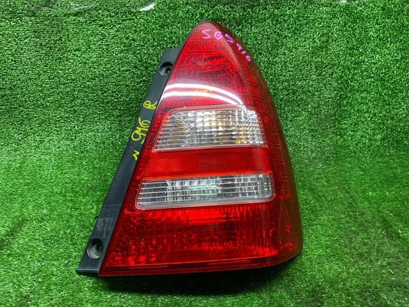 Стоп-сигнал Subaru Forester SG5 EJ202DX 09/2004 задний правый (б/у) 22020762