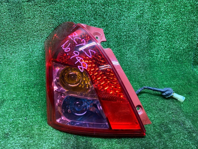 Стоп-сигнал Suzuki Swift ZC71S K12B 2009 задний левый (б/у) 5696