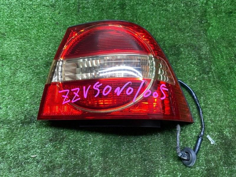 Стоп-сигнал Toyota Vista ZZV50 1ZZFE 08.2002 задний правый (б/у) 32175