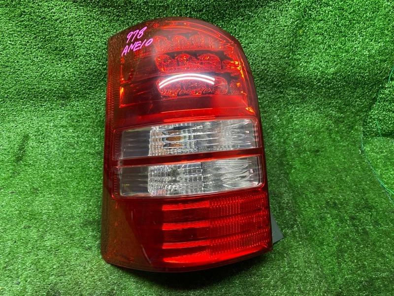 Стоп-сигнал Toyota Wish ANE10 1AZFSE 03.2004 задний левый (б/у) 683