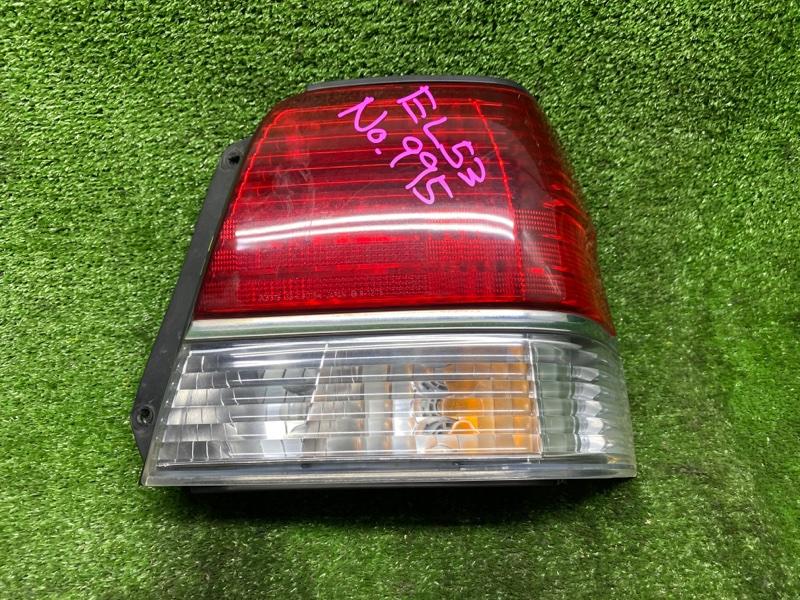 Стоп-сигнал Toyota Tercel EL53 5EFE 03.1999 задний правый (б/у) 16162