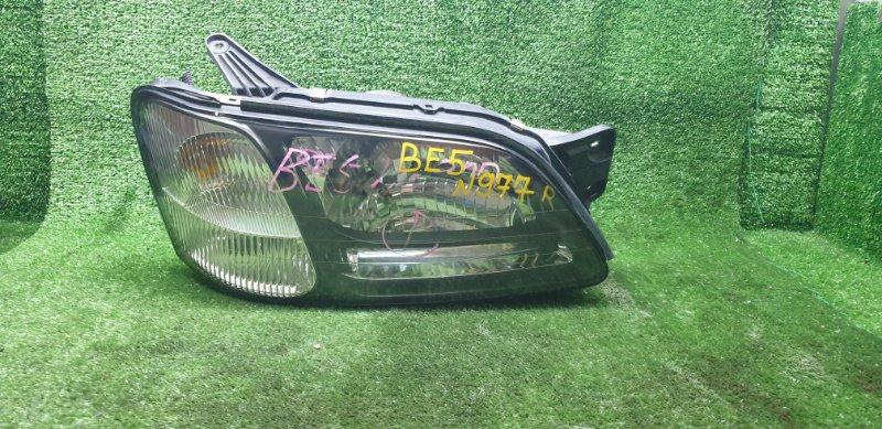 Фара Subaru Legacy BE5 EJ206DX 03/1999 передняя правая (б/у) 10020655